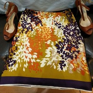 Stunning silk Prada skirt!  Size 38